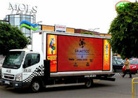 China Exterior High Brightness full color  P10mm Truck Mobile LED Display with iron cabinet factory