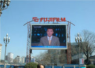 Video Hanging LED Display full color LED screen 10mm Pixels ip65