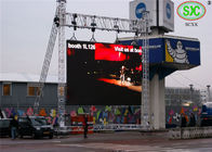China Full Colour large LED display , DIP 346 Pixel 10mm outdoor LED billboards factory