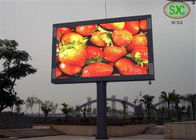 China Tricolor High brightness Sync LED billboards advertising for mansion video wall factory
