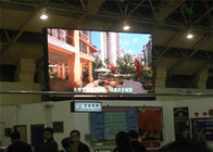 China Energy saving rental Indoor Advertising LED Display for subway Tunnel Pixels 10mm factory