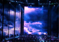 Full Color LED Curtain Wall Display , Indoor Statium LED Stage Curtain Screen P2.5
