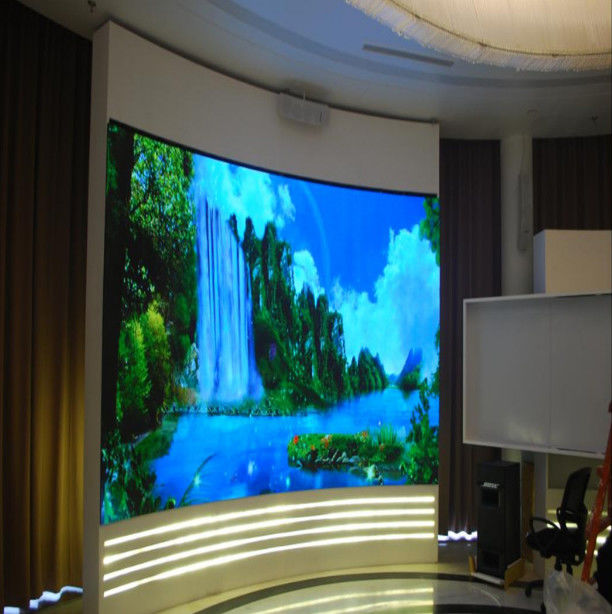 3G WIFI Control P5 SMD LED Screen , Large led display board for