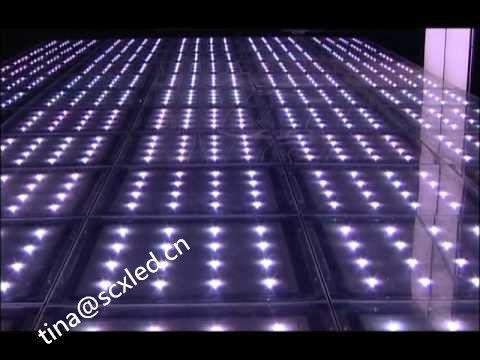 Optical Illusions Mirror Wedding Dance Floor , Light Up Floor Tiles ...