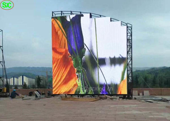 P4 Outdoor Magic Special Shape Stage LED Screens Wifi Control with CE UL
