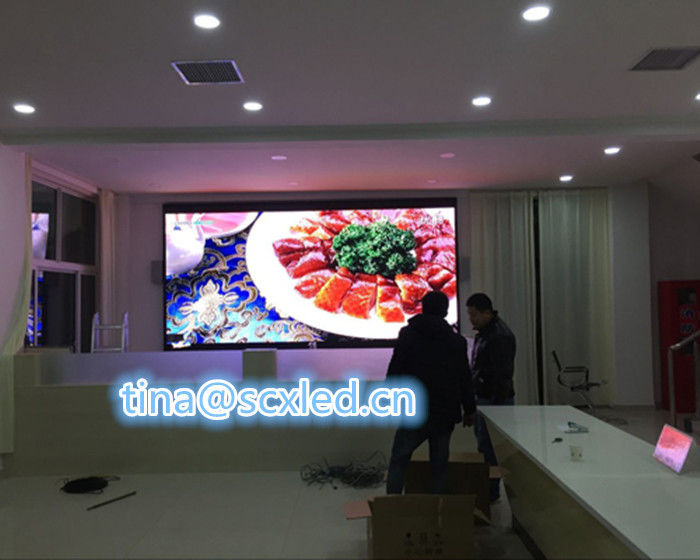 IP43 Smd P2.5mm Video Wall Led Panels Indoor Small Pixel Pitch 480mm X480mm