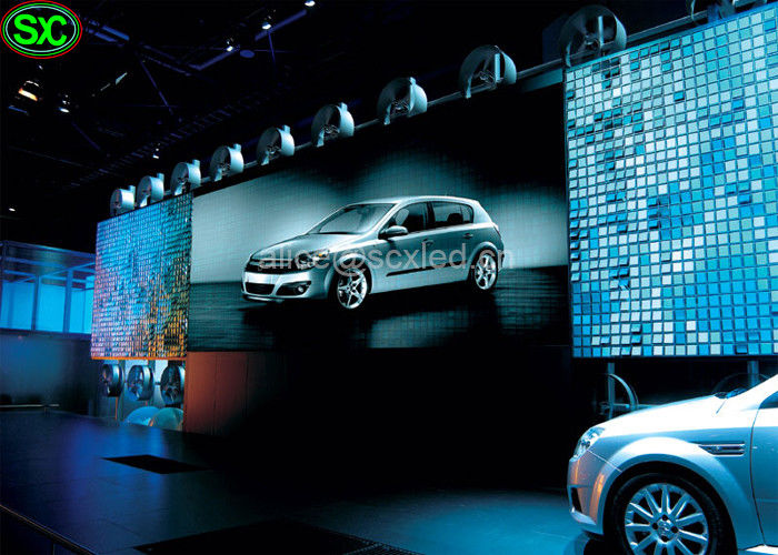 Magic Car Show Stage Indoor Advertising Led Video Screens