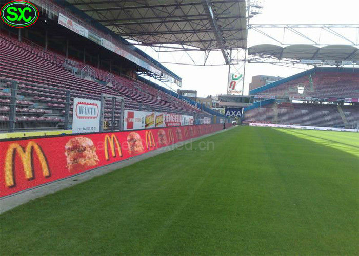 P8 Perimeter Sport Stadium Video Led Display low power consumption