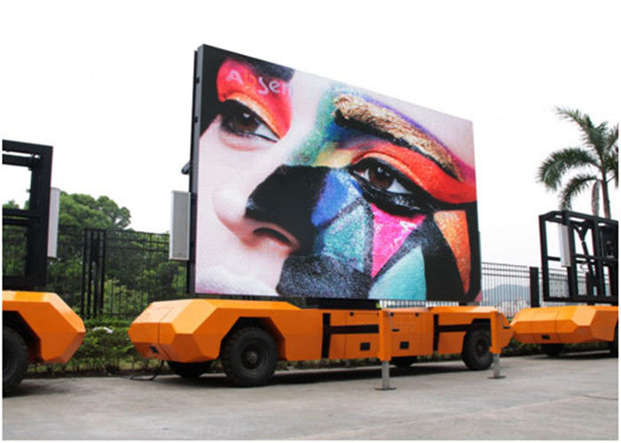 Vehicle HD Video Truck Mounted Led Screens Multimedia Advertising P5 P6 P8 P10
