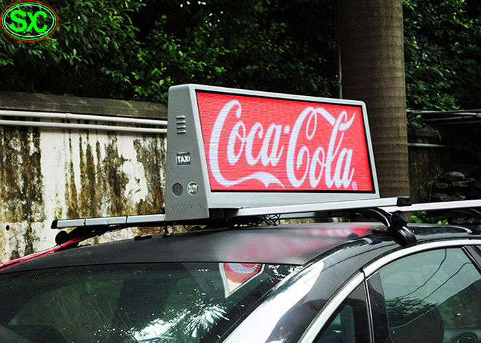 Video P4 Car LED Top Video Sign Display Taxi Roof LED Sign