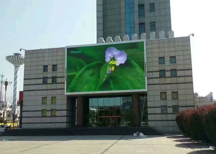 p10 outdoor advertising led display screen using for shop,supermarket,mall waterproof pi 65