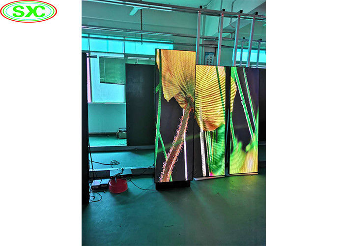 Superthin Poster P3 Outdoor Led Advertising Screens Vertical Standing Constant Drive