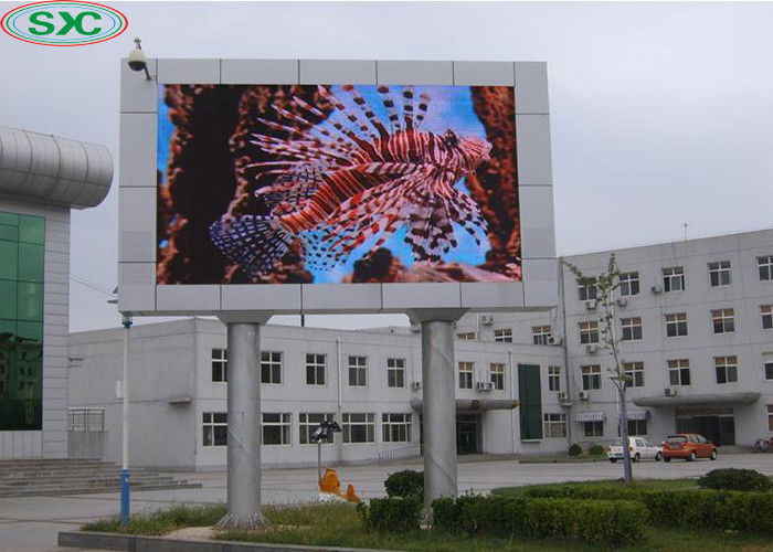 Outdoor Waterproof High Resolution Led Display DIP P10 960*960mm 1/4 Scan 160x160mm Module