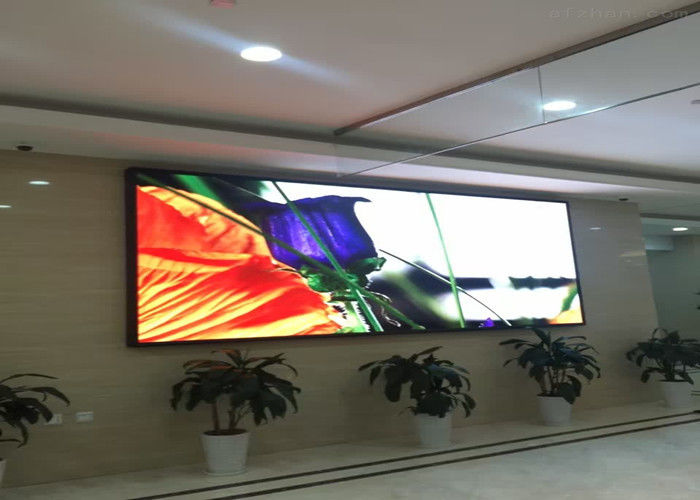 Advertising Led Video Display Panel Customized HD 5mm Pixels Full Color 1R1G1B
