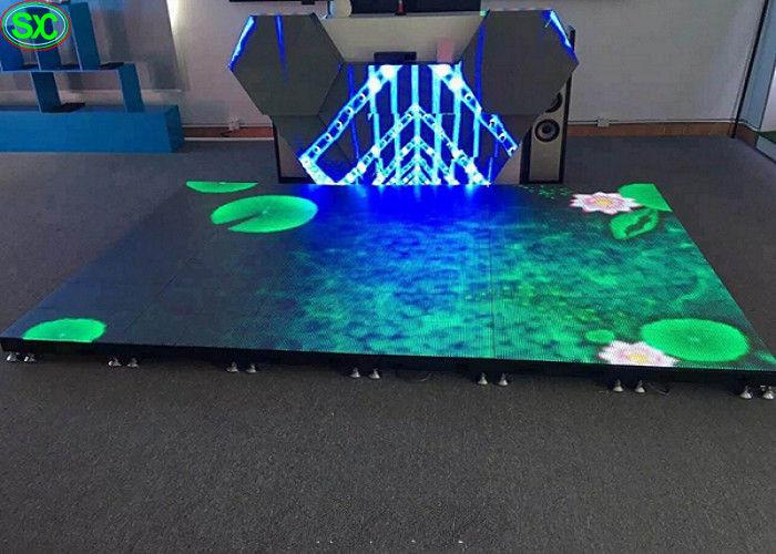 P4 81 Disco Led Dance Floor Display Rental Led Stage