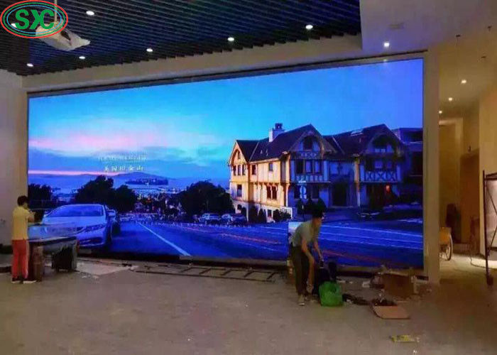 Customized Flexible HD P5 Indoor Full Color Led Display 1200cd/m2 Brightness