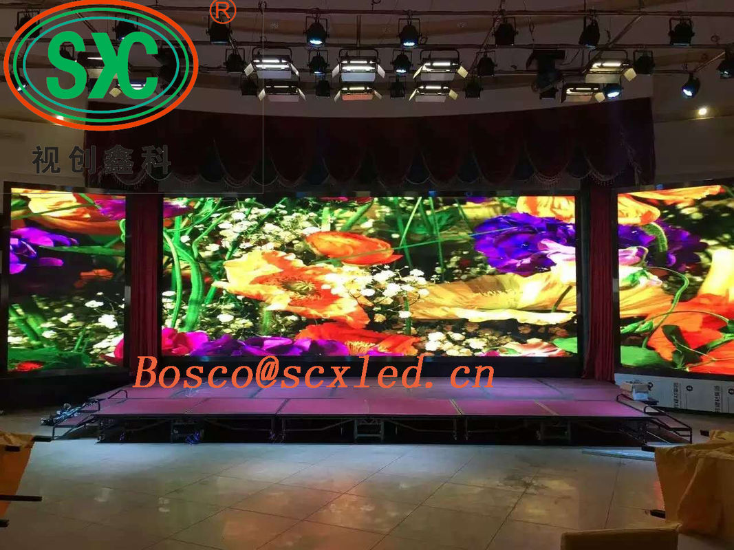 Small Pitch Full Color Stage Background Display Rental Indoor P2.5 1R1G1B SMD 3 In 1