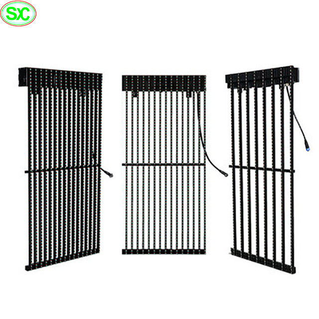 P10 outdoor waterproof led video curtain display , led curtain stage backdrop