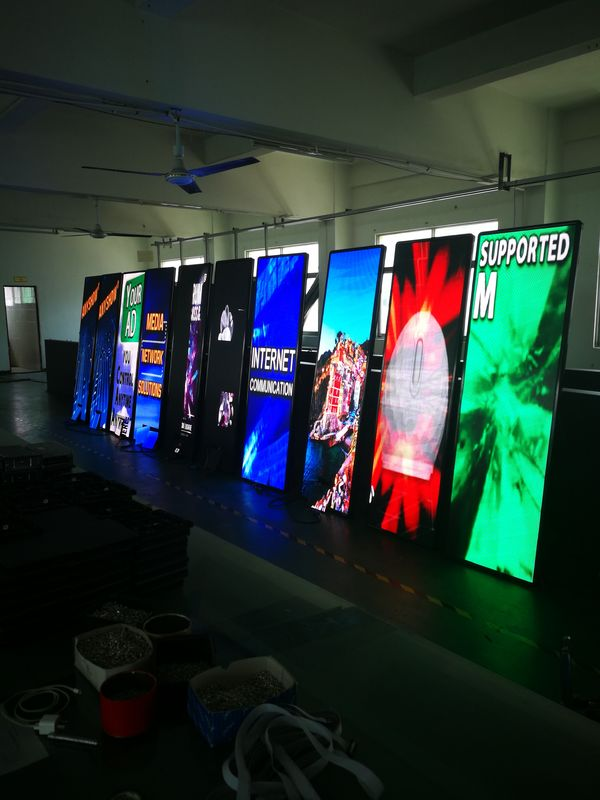 P3 LED Poster Display HD Vertical Screen Indoor Advertising LED Display Stand
