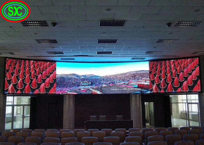 Epistar Chip Outdoor Full Color LED Screen For Shopping Mall Stadium Weding Hall