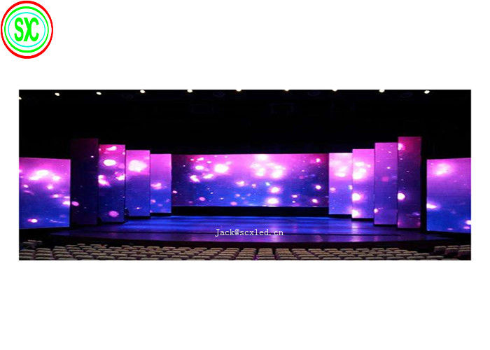 P3 Stage Led Screen Hire Indoor Full Color Die Casting Aluminum Cabinet 576x576mm