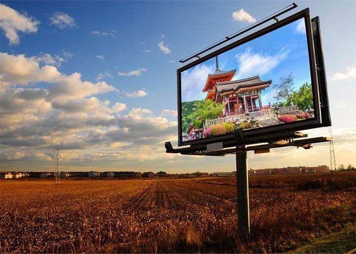 P5 Outdoor Full Color LED Display Board Wide Viewing Angle Fixed Installation