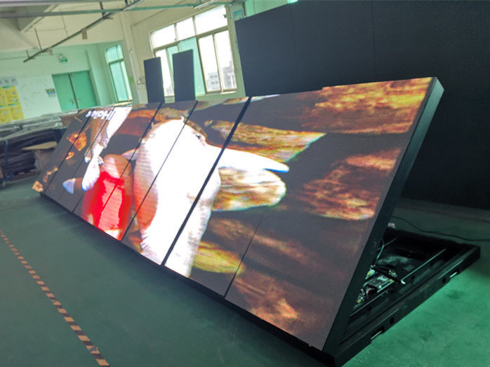 7000 Nits Outdoor Full Color LED Display , P5 P6 P8 Double Sided LED Display