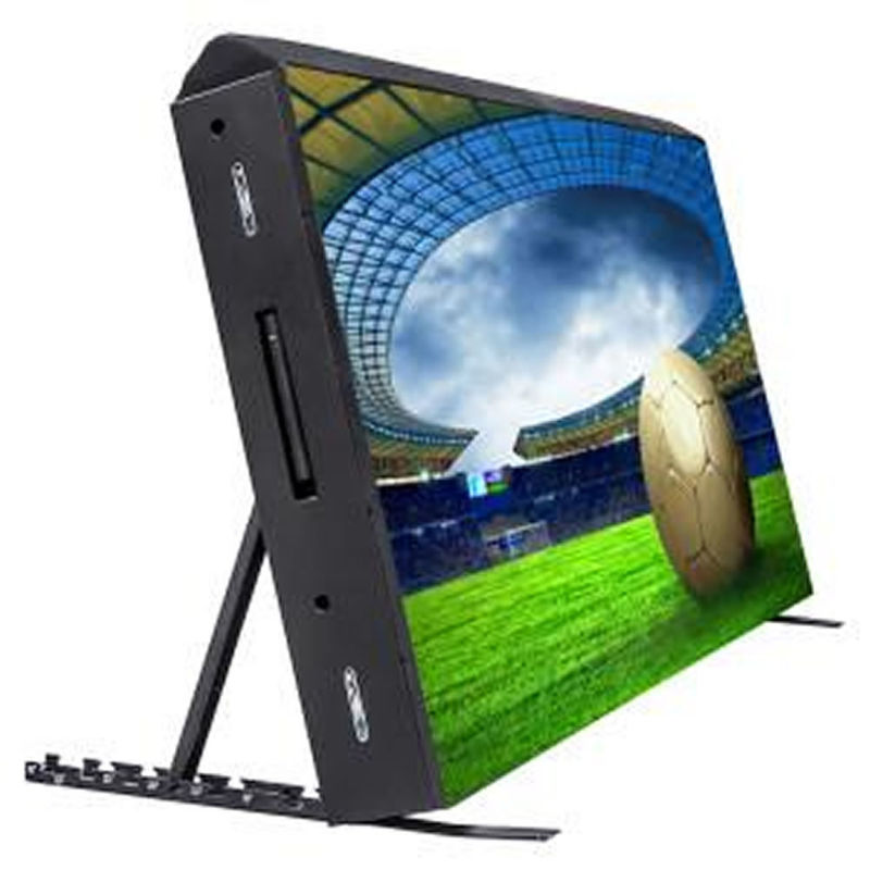LED Advertising Display Screens For Football Stadium , Large Led Video Wall Board