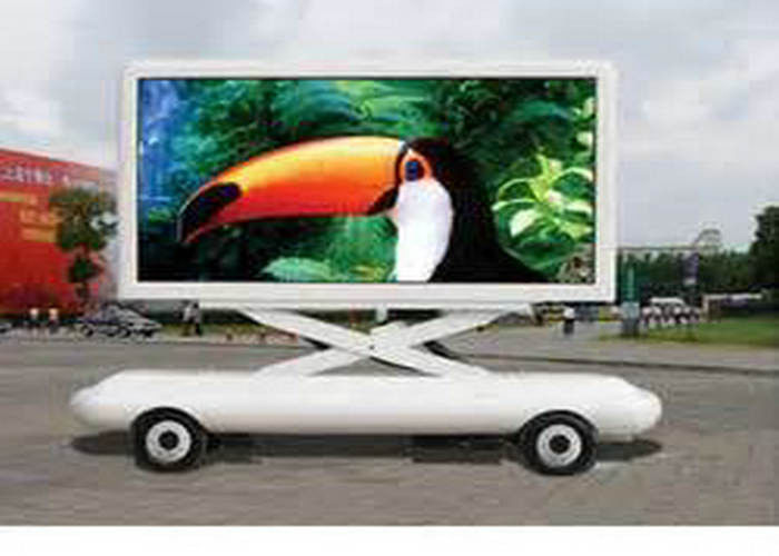 Beatiful And Handy Led P6 Mobile Truck LED Display Screen Die Castingt Outdoor Waterproof IP65 truck mobile adveristing
