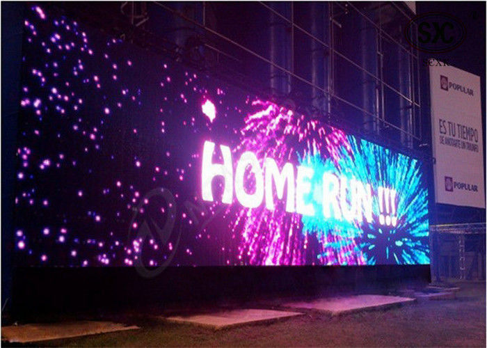 Exterior Electronic Full Color P25 Programmable Outdoor LED Video
