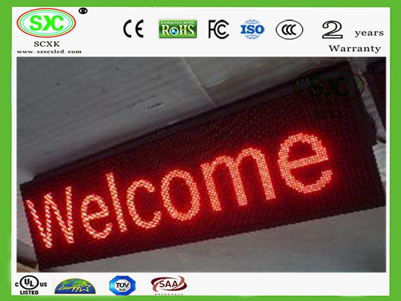 Waterproof P6.67 Single Color LED Display HD Cabinet 320*160mm IP65 LSN System