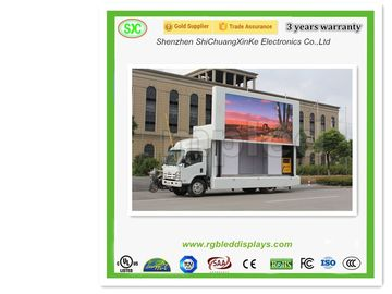 High Definition P6 Mobile Truck LED Display , Truck LED Screen for Advertising
