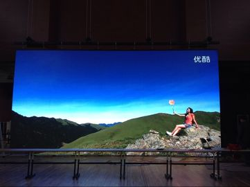 China SMD P4 Led Display Full Color Led Signs , Steel Or Aluminum Cabinet factory