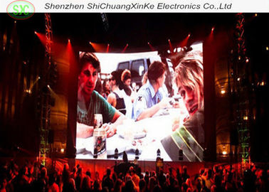 High Definition Stage Led Screens , Indoor Or Outdoor Advertising Led Display