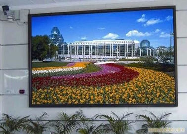 China P3 Indoor LED Advertising Displays Led Video Screen With Steel Cabinet factory