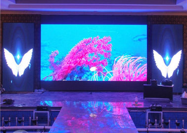 China High Contrast SMD2121 Stage Background Led Screen , Indoor LED Displays Billboard factory