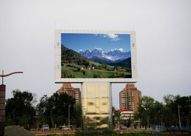 High Resolution Led Video Display Screen / Outdoor LED Billboard 1R1G1B SMD P8