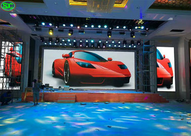 Video Led Display Screen Rental With Nova Control , Indoor Led Display Board For Stage