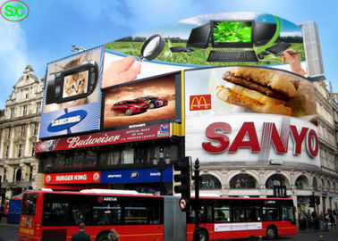 P25 Outdoor Advertising LED Screens , Full Color LED Display for Advertisement