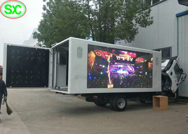 IP65 Waterproof Mobile Truck LED Display 4mm with Phone Remote Control
