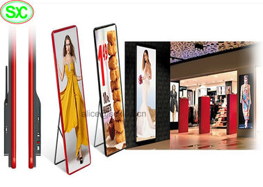 P3 LED Poster Screen For Shopping Mall / Indoor LED Display Full Color
