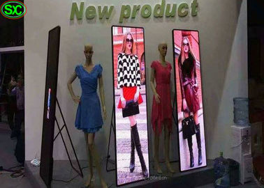 P3 Portable Led Advertising Board , RGB SMD 2121 Led Mirror Poster
