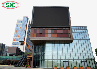 China Fixed Wall Mounting Outdoor Full Color Led Screen P6 Module Size 192x192mm factory