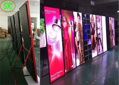 China High Definition LED Illuminated Poster Displays P3 Full Color Kinglight LED Lamp factory