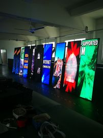 China P3 LED Poster Display HD Vertical Screen Indoor Advertising LED Display Stand factory