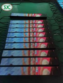 China 256mm*128mm P4 Flexible LED Screen Free Standing LED Dance Floor Wedding factory