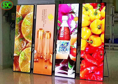 China P2.5 Indoor Shop Window LED Poster Display 160mm*160mm Module Size CE Certified factory