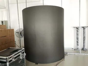 China P4 Indoor Fixed Advertising Flexible LED Screen Cylindrical Shape 2121 Lamp Size factory