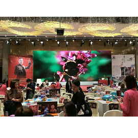 China Indoor Rental Full Color LED Display Screen , P4 Curved LED Video Wall 1200Hz factory