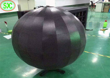 Hd Indoor Ball Sphere LED Screen Full Color 64*32 Dots Resolution Constant Driving